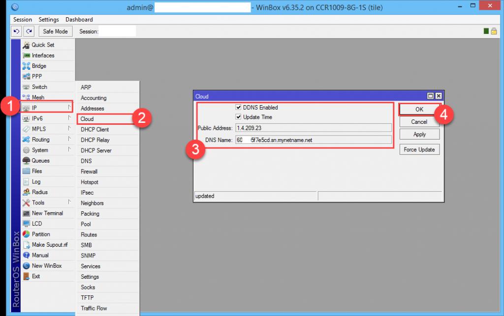 การติดตั้ง VPN Server แบบ Client To Site ด้วย MikroTik